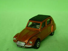 DINKY TOYS  1:43  CITROEN DYANE   -  BROWN  -    IN  VERY GOOD CONDITION