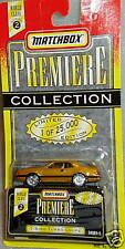 Matchbox WC #2 Gold T-Bird Turbo Coupe Limited Edition These are hard to find