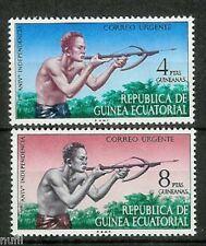 Equatorial GUINEA ECUATORIAL Edifil # 15/16 ** MNH Set Urgente / expres