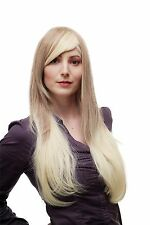 Sexy Wig Womens Wig Ombre Hair Dark blonde Platinum Mix long smooth SA062