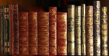 NEW Easton Press 100 Greatest Books Full Leather Hubbed Spines Shrink-wrapped