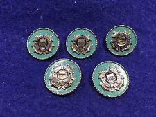 Lot of 5 1970's Vintage United States Coast Guard Pins