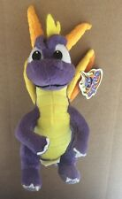 "2001 Play By Play Spyro Dragon 8.5"" Stuffed Plush W/Tag Playstation *SEE PICS*"