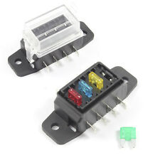 Fuse Box 4 Way for Mini Blade Fuses ATO Holder / Block 12v or 24v Car / HGV