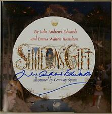 JULIE ANDREWS Signed Simeon's Gift Book Signed Autograph Actress