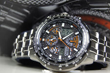 citizen eco drive JY0000-53E  Skyhawk RADIO CONTROLLED WR200 (26)