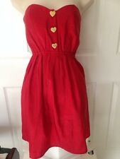 REKO Red Dress Juniors 1-3