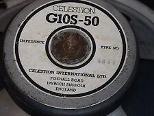 """Celestion G10S-50 8 ohm 10"""" 50 watt guitar speaker"""