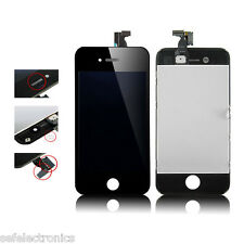 KIT TOUCH SCREEN VETRO LCD DISPLAY NERO PER APPLE IPHONE 4S A1387 TOUCHSCREEN