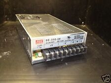 MeanWell SE-350-24 LED Indoor Driver Power Supply 350W/24VDC 3-Channel PFC