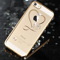 Luxury Diamond Glitter Bling Silicone Soft Case Cover For Apple iPhone 6 6s Plus