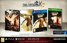 Xbox One Game Final Fantasy Type-0 HD limited Steelbook Edition NEW
