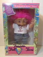 "TREASURE TROLLS UNIVERSITY - 12"" Ace Soft Treasure Troll Doll - NEW - Very Rare"