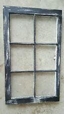 VINTAGE SASH ANTIQUE WOOD WINDOW PICTURE FRAME PINTEREST  DISTRESSED BLACK OLD