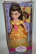 NEW DISNEY PRINCESS AND ME JEWEL EDITION 18 INCH BELLE  DOLL TOY BEAUTY AND THE