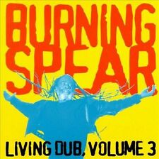 Burning Spear Living Dub, Vol. 3 CD, Feb-1997, Heartbeat Like New