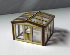 HO scale building kit Greenhouse