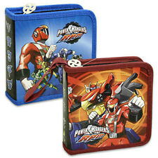 LOT OF 2 Power Rangers 24 CD DVD BLU RAY Organizer Storage Carry Case NEW
