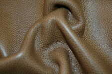 125 sf 2.5 oz Taupe Tan Leather Cow Hide Upholstery Skin a6cg hi