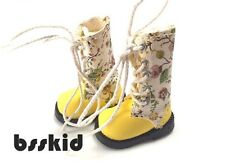 "SALE Blythe Pullip 1/6 12"" Doll Floral YELLOW Shoes Boot"