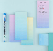Gradation It Sticky Note 3 Set Post-it Memo Pad Cute Bookmark Index Tab Marker