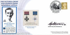 2003 Victoria & George Cross Memorial - Signed by Henry William Stevens GC