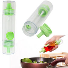 Silicone Olive Pump Spray Fine Bottle Oil Sprayer Pot Kitchen Cooking Tool
