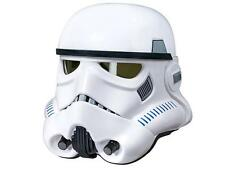 STAR WARS ROGUE ONE Deluxe STORMTROOPER Voice Changer HELMET Black PROP REPLICA