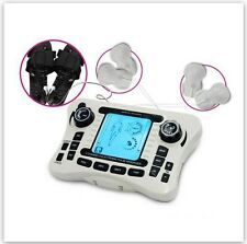 Dual channel TENS EMS pain relief nerve muscle stimulator FULL BODY ACUPUNCTURE