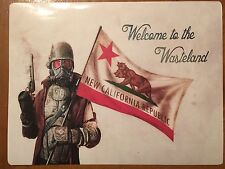 Tin Sign Vintage Fallout Welcome To The Wasteland New California Republic