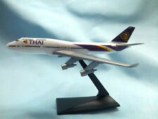 Promotion THAI AIRWAYS BOEING747-400 Air Plane scale 1:530 model collectible toy