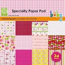 "cArt-Us BABY GIRL PAPERPAD 24 sheets 6""x6"" 980010/0001 REDUCED CLEARANCE"