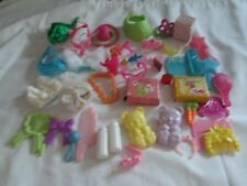 Lot of vintage assorted G1 MY LITTLE PONY accessories baby clothes bottles more