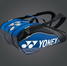YONEX 12 Tennis/16+ Badminton Pro Thermal Racquet Bag 96212EX, Blue, Biggest Bag