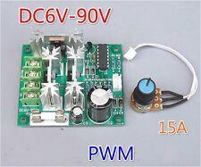 1PCS DC Motor Speed Controller 15A 6V 12V 24V 36V 48V 72V 90V Power PWM 0%-100%