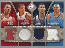 Rose Beasley Mayo Westbrook 2009-10 Upper Deck SP Game Used Fabric Card # MBRW