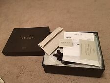 New authentic Gucci men's leather boots size 10