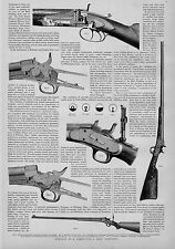 REMINGTON & SONS' RIFLE COLT'S PATENT FIREARMS MANUFACTURING COMPANY GUN SIGHT