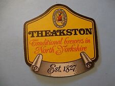 Beer Collectible Coaster ~ THEAKSTON Traditional Brewers in North Yorkshire, UK