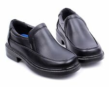 Black nn Church Slip On Little Kids Boys Back To School Youth Shoes Size 1