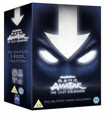 AVATAR THE LAST AIRBENDER COMPLETE 3 BOOK COLLECTION 13 DISC DVD BOX SET NEW