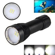 Orginal 4000LM 4x XM-L2 LEDFotografie Video Unterwasser bis 100 Taschenlampe