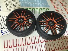 NEW 1:8 GRP TOURING CAR VINYL WRAPPING ( Decal) FOR SET OF (4) WHEEL