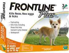 Frontline Plus For Dog 0-22 lbs (up to 10 kg) 6 MONTHS (Doses) Flea Control