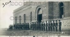 1923 Mexican Army Soldiers in Juarez 1920s Press Photo