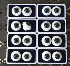 Doll Eyes - #EG Highest Quality Glass Eyes 24mm: BLACK only. SPECIAL!!