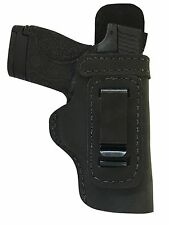 LT CUSTOM MADE HAND FIT LEATHER HOLSTER Black Right IWB w/Body Shield RUGER SR9E