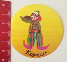 Aufkleber/Sticker: Fresenius - Clown (090316179)