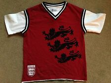 BNWT NEXT Red White England Three Lions Tank Top T-Shirt 5 Years 110cm
