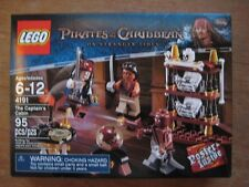 LEGO 4191 The CAPTAINS CABIN PIRATES of CARIBBEAN NIB NEW SEALED! RETIRED LOOK@